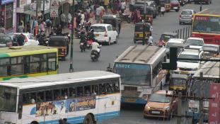 Egy dél-indiai metropolisz képei