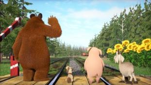Véget ér a Mása és a Medve mesesorozat?