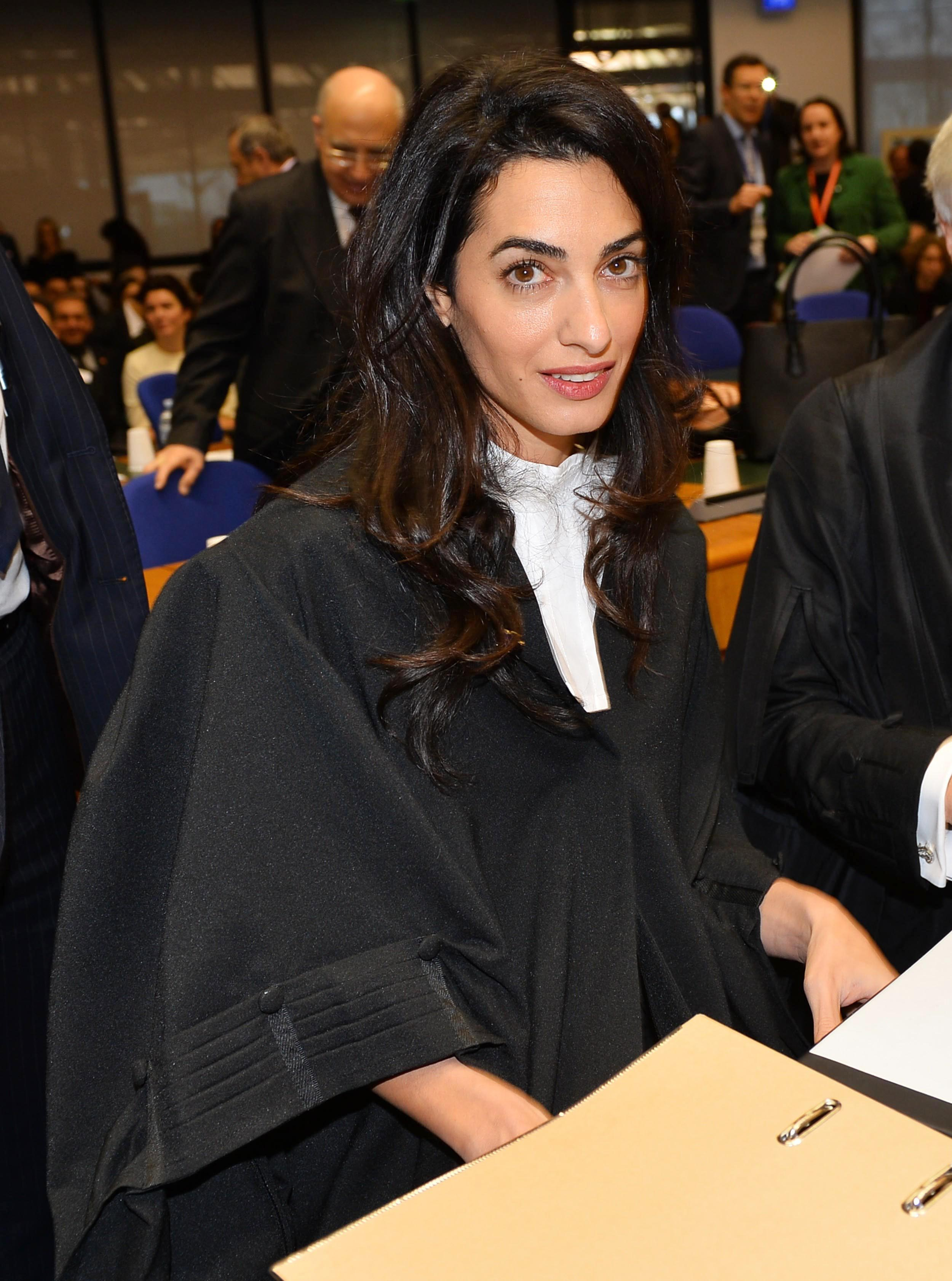 Amal Clooney represents Armenia during genocide denial case in Strasbourg