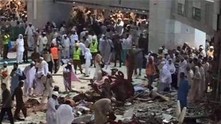 Így és ezért dőlt rá a hatalmas toronydaru a mekkai Nagymecsetre