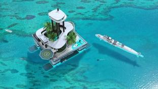 Úszó szigetet a milliárdosoknak