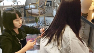 Karitatív fodrászat- hajadományozás Japánban