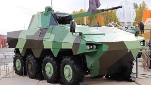 Félelmetes harci járművet fejlesztettek ki az oroszok