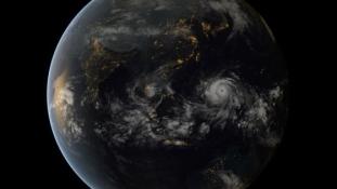 Mit üzen a Föld satelitképe a világunk állapotáról