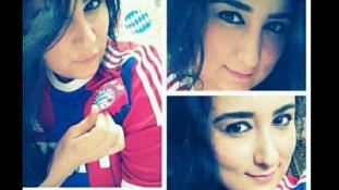 Szíriai menekült lányt gyászolt ma az FC Bayern