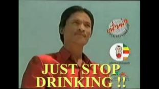 Elkezdek inni, hogy abba tudjam hagyni – Vicces kampánnyal harcol az alkohol ellen Thaiföld