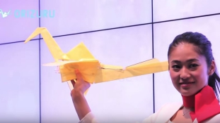 Az origami daru, ami valóban repül
