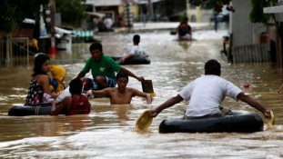 Városokat küldött a víz alá Koppu a Fülöp-szigeteken