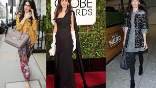 Csajos dolgok: Amal Clooney 8 legjobb és legrosszabb stíluspillanata