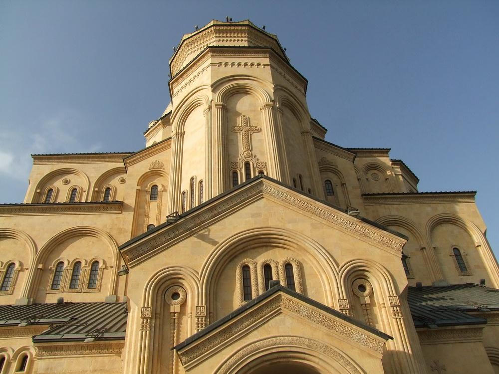 Tsminda Sameba katedrális