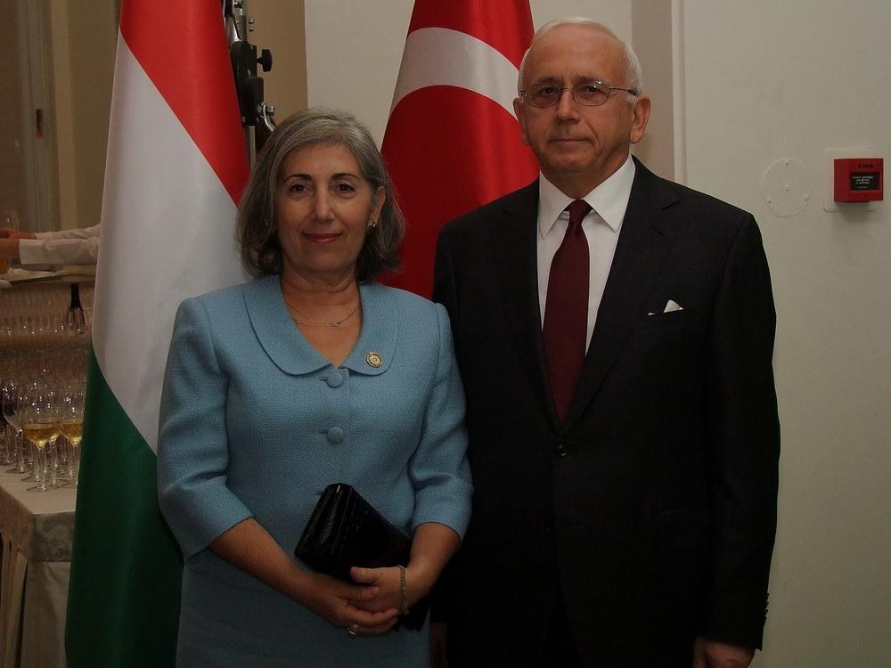 A 92 éves Török Köztársaságot köszöntötték Budapesten