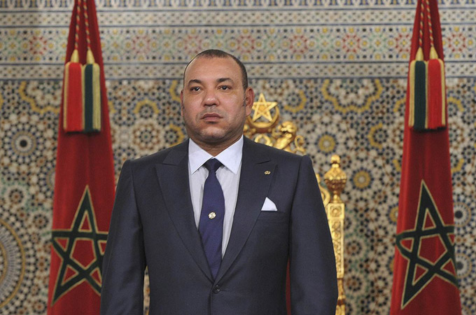 Morocco's King Mohammed prepares to address the nation in Tangiers