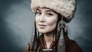 Így változott a kirgiz szépségideál