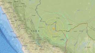 Földrengés az Amazonas-medencében