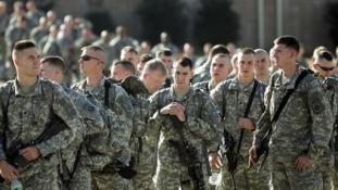 Amerikai katonák Szíriában