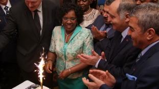 Ünnepi fogadást adott Angola nagykövete