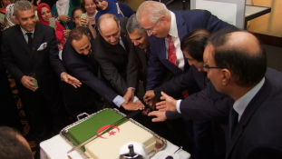Az algériai nagykövet fogadása Budapesten
