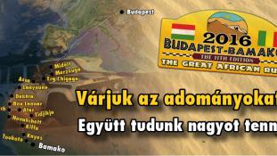 Indul az adománygyűjtés a 2016-os Budapest-Bamako Rallyra