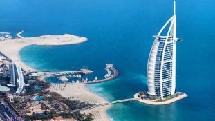 Most már mi is bemehetünk a 7 csillagos Burdzs al-Arabba – indul a virtuális túra