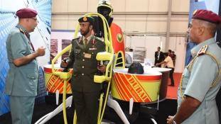 Repülni tudnak a dubaji tűzoltók