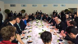 Mit ebédeltek ma a klímacsúcson a világ vezetői?