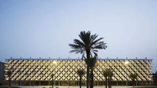 Ez most a Közel-Kelet legmenőbb könyvtára