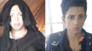 Ilyen ronda nőknek álcázva menekülnek az ISIS harcosai