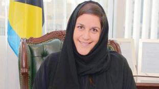 Ő Szaúd-Arábia első tiszteletbeli konzulasszonya