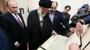 Különleges ajándékkal lepte meg Putyin az irániakat