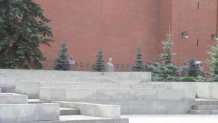 Amerikaiak a Kreml falában