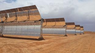 Lenyűgöző naperőmű Marokkóban