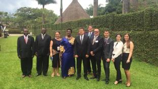 Magyar üzletemberek Ugandában: új lehetőségek Afrikában