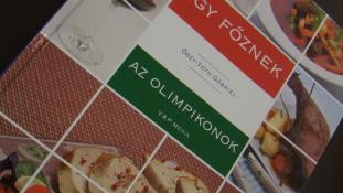 Olimpikonok receptjeit mutatja be az Így főznek sorozat új kötete