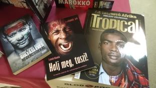 Még holnap is kaphatók Afrika könyvek a Bazilikánál