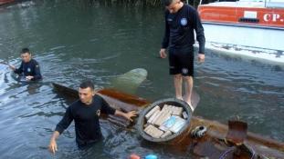 Három tonna kokaint szállított az összetákolt tengeralattjáró legénysége