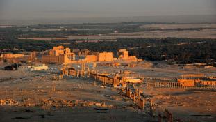 Az oroszok már készülnek Palmüra újjáépítésére