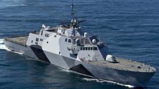 Húsz napot sem bírt ki a tengeren az amerikai haditengerészet új büszkesége