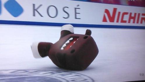 Domo-kun elesett és nem tudott felállni