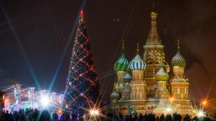 120 éves Oroszország idei fenyőfája