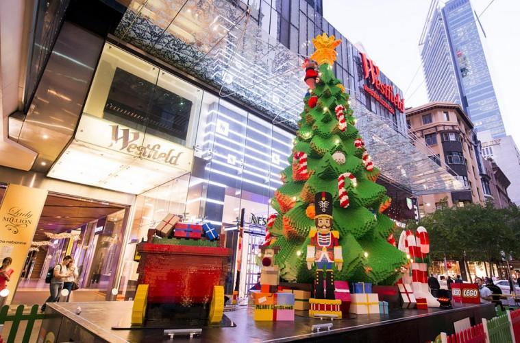 Karácsonyfa legóból, Melbourne
