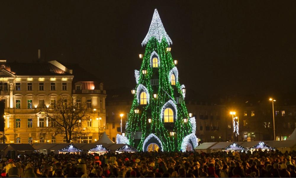 A nemzet karácsonyfája, Vilnius