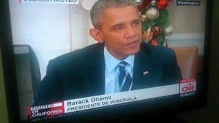 Venezuela elnöke: Barack Obama