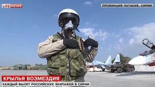 Tetőtől talpig felfegyverezik az orosz vadászpilótákat Szíriában (videóval)