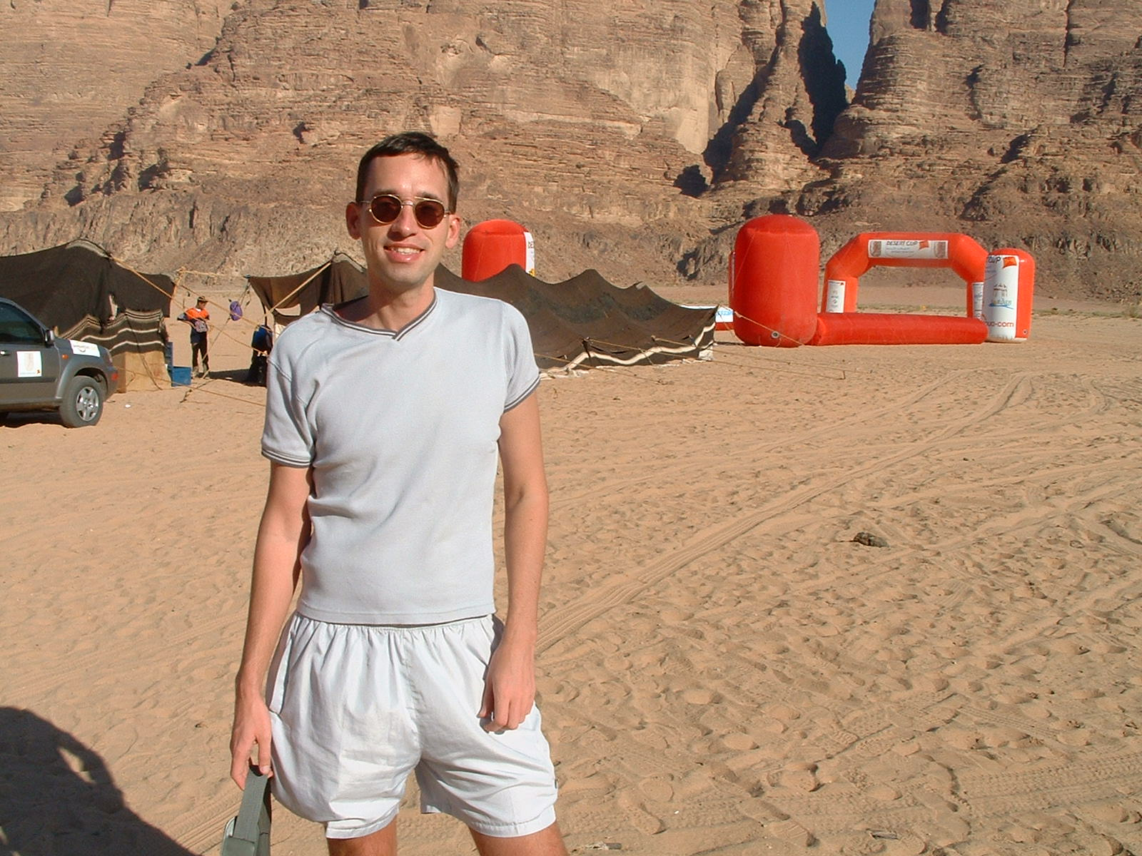 Sivatagi futóverseny Jordániában.