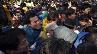 Kaotikus társadalom Dél-Koreában