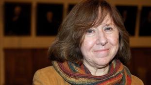 Bojkottálja saját Nobel-díjasát Belorusz