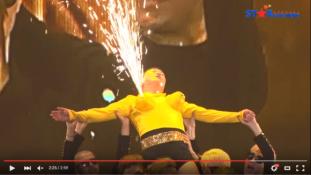 Rakétaciciket villantott Psy