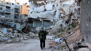 Dübörög az orosz offenzíva Szíriában