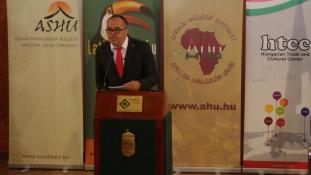 Fogadáson köszöntötte az új évet és partnereit a Magyar Afrika Társaság