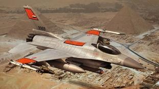 Mélyen hallgat a lezuhant F-16-osról az egyiptomi hadsereg